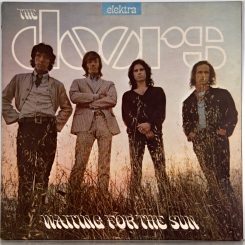 6. DOORS-WAITING FOR THE SUN-1968-ВТОРОЙ ПРЕСС 1971 UK-ELEKTRA-NMINT/NMINT