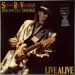 10. VAUGHAN, STEVE RAY AND DOUBLE TROUBLE -LIVE ALIVE-1986-ПЕРВЫЙ ПРЕСС UK/EU HOLLAND-EPIC-NMINT/NMINT
