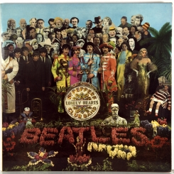 7. BEATLES-SGT PEPPER'S LONELY HEARTS CLUB BAND-1967-5(ПЯТОЕ) ИЗДАНИЕ 1971 -СТЕРЕО -UK-PARLOPHONE-NMINT/NMINT