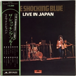 10. SHOCKING BLUE-LIVE IN JAPAN-1971-FIRST PRESS JAPAN-POLYDOR-NMINT/NMINT