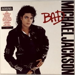 130. JACKSON, MICHAEL-BAD-1987-ПЕРВЫЙ ПРЕСС UK-EPIC-NMINT/NMINT