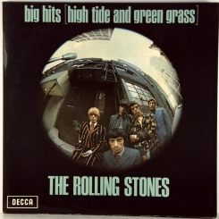 38. ROLLING STONES-BIG HITS (HIGH TIDE AND GREEN GRASS)-1966-ОРИГИНАЛЬНЫЙ ПРЕСС 1968 UK-DECCA-NMINT/NMIN