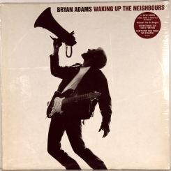 60. BRYAN, ADAMS-WAKING UP THE NEIGHBOURS (2LP)-1991-ПЕРВЫЙ ПРЕСС HOLLAND-A&M-NMINT/NMINT