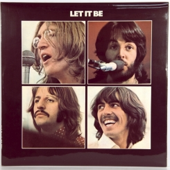 12. BEATLES-LET IT BE-1970-ВТОРОЕ ИЗДАНИЕ 1970 -UK-APPLE-NMINT/NMINT