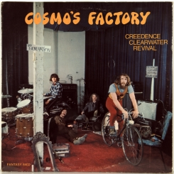 16. CREEDENCE CLEARWATER REVIVAL-COSMO'S FACTORY-1970-ПЕРВЫЙ ПРЕСС (ПРОМО) USA-FANTASY-NMINT/NMINT