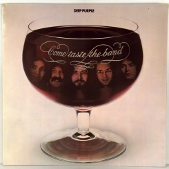 58. DEEP PURPLE-COME TASTE THE BAND-1975-первый пресс UK-purple rec.-nmint/nmint