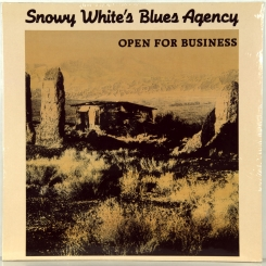 37. SNOWY WHITE'S BLUES AGENCY-OPEN FOR BUSINESS-1989-ПЕРВЫЙ ПРЕСС GERMANY-BELLAPHON-NMINT/NMINT