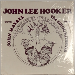 13. JOHN LEE HOOKER WITH JOHN MAYALL WITH THE GROUNDHOGS-JOHN LEE HOOKER-1972-ПЕРВЫЙ ПРЕСС USA-CLEVE-NMINT/NMINT