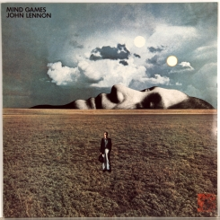 42. LENNON, JOHN-MIND GAMES1973-ПЕРВЫЙ ПРЕСС UK-APPLE-NMINT/NMINT