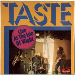40. TASTE-LIVE AT THE ISLE OF WIGHT-1971-ПЕРВЫЙ ПРЕСС UK-POLYDOR-NMINT/NMINT