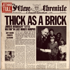 20. JETHRO TULL-THICK AS A BRICK-1972-ПЕРВЫЙ ПРЕСС UK-CHRYSALIS-NMINT/NMINT