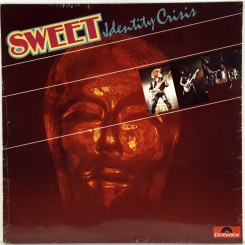 85. SWEET - IDENTITY CRISIS-1982-ПЕРВЫЙ ПРЕСС UK/EU-GERMANY-POLYDOR-NMINT/NMINT