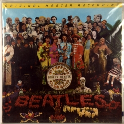 34. BEATLES-SGT PEPPERS LONELY HEARTS CLUB BAND-1967-ПЕРЕИЗДАНИЕ 1983 USA-MOBILE FIDELITY SOUND LAB-NMINT/NMINT