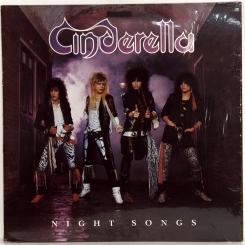 100. CINDERELLA-NIGHT SONGS-1986-ПЕРВЫЙ ПРЕСС UK-VERTIGO-NMINT/NMINT