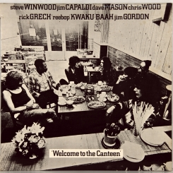 25. TRAFFIC-WELCOME TO THE CANTEEN-1971-ПЕРВЫЙ ПРЕСС UK-ISLAND-NMINT/NMINT