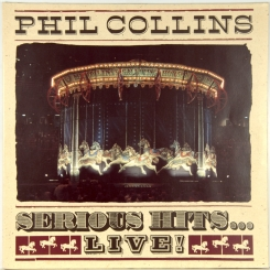 54. COLLINS, PHIL-SERIOUS HITS.. LIVE!-1990-ПЕРВЫЙ ПРЕСС GERMANY-WEA-NMINT/NMINT