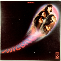 94. DEEP PURPLE-FIREBALL-1971-ПЕРВЫЙ ПРЕСС UK-HARVEST-NMINT/NMINT