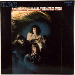 5. GUESS WHO- AMERICAN WOMAN (ПРОМО)-1970-ПЕРВЫЙ ПРЕСС ITALY-RCA VICTOR-NMINT/NMINT