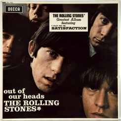 35. ROLLING STONES-OUT OF OUR HEADS-1965-EXPORT STEREO ORIGINAL 1968 UK-DECCA-NMINT/NMINT