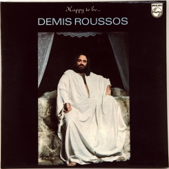 33. ROUSSOS,DEMIS-HAPPY TO BE-1976-FIRST PRESS UK-PHILIPS-NMINT/NMINT