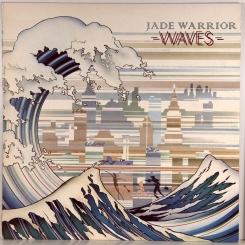 24. JADE WARRIOR-WAVES-1975-ПЕРВЫЙ ПРЕСС UK-ISLAND-NMINT/NMINT