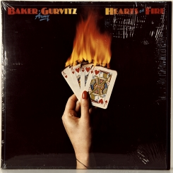 63. BAKER-GURVITZ ARMY-HEART ON FIRE-1976-FIRST PRESS (PROMO)UK-MOUNTAIN-NMINT/NMINT