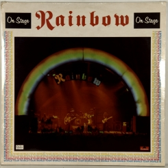 59. RAINBOW-ON STAGE-1977-FIRST PRESS UK-POLYDOR OYSTER-NMINT/NMINY