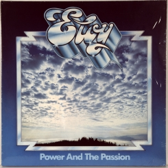 56. ELOY-POWER AND THE PASSION-1975-ОРИГИНАЛЬНЫЙ ПРЕСС 1977 GERMANY-HARVEST-NMINT/NMINT