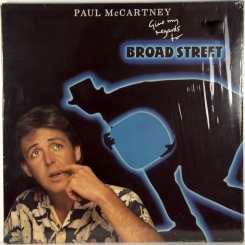 47. MCCARTNEY, PAUL-GIVE MY REGARDS TO BROAD STREET-1984-ПЕРВЫЙ ПРЕСС UK-PARLOPHONE-NMINT/NMINT