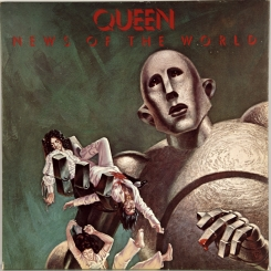 102. QUEEN-NEWS OF THE WORLD-1977-ПЕРВЫЙ ПРЕСС UK-EMI-NMINT/NMINT