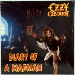 48. OSBOURNE, OZZY-DIARY OF A MADMAN-1981-ОРИГИНАЛЬНЫЙ ПРЕСС 1985 HOLLAND-EPIC-NMINT/NMINT