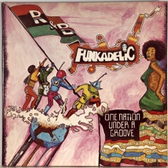 219. FUNKADELIC-ONE NATION UNDER A GROOVE-1978-ПЕРВЫЙ ПРЕСС USA-WARNER BROS.-NMINT/NMINT