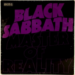 41. BLACK SABBATH-MASTER OF REALITY-1971-ОРИГИНАЛЬНЫЙ ПРЕСС 1976 UK-NEMS-NMINT/NMINT