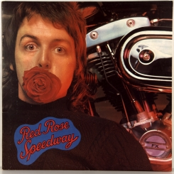 35. WINGS-RED ROSE SPEEDWAY-1973-ПЕРВЫЙ ПРЕСС UK-APPLE-NMINT/NMINT
