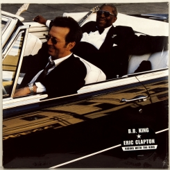 22. B.B.KING & CLAPTON, ERIC-RIDING WITH THE KING-2000-FIRST PRESS UK/EU-REPRISE-NMINT/NMINT