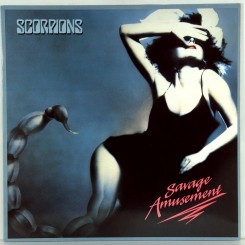91. SCORPIONS-SAVAGE AMUSEMENT-1988-ПЕРВЫЙ ПРЕСС GERMANY-EMI-NMINT/NMINT