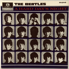 8. BEATLES-A HARD DAY'S NIGHT(MONO) -1964-FIRST PRESS UK-PARLOPHONE-NMINT/NMINT