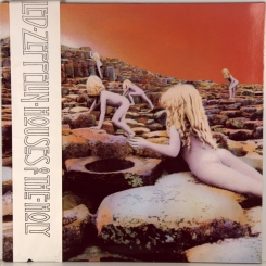 87. LED ZEPPELIN-HOUSES OF THE HOLY-1973-Переиздание начала 80-х-germany-atlantic-nmint/nmint