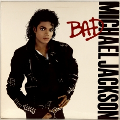 80. JACKSON, MICHAEL-BAD-1987-FIRST PRESS USA-EPIC-NMINT/NMINT