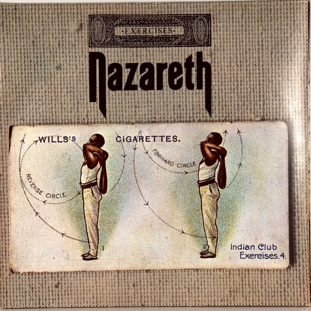 Nazareth Exercises 1972 ПЕРВЫЙ ПРЕСС Germany Philips Nmint