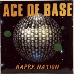 140. ACE OF BASE-HAPPY NATION-1993-ПЕРВЫЙ ПРЕСС GERMANY-METRONOME-NMINT/NMINT