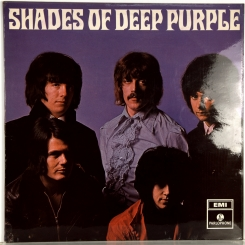 26. DEEP PURPLE-SHADES OF DEEP PURPLE-1968-ПЕРВЫЙ ПРЕСС UK-PARLOPHONE-NMINT/NMINT