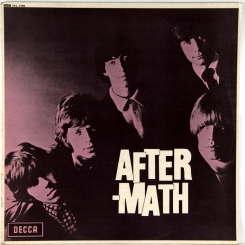 37. ROLLING STONES-AFTERMATH (STEREO)-1966-FIRST PRESS UK-DECCA-NMINT/NMINT