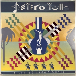 55. JETHRO TULL-A LITTLE LIGHT MUSIC-1992-FIRST PRESS UK-CHRYSALIS-NMINT/NMINT