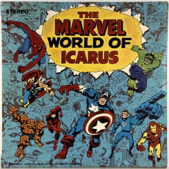 56. ICARUS-MARVEL WORLD OF ICARUS-1972-ПЕРВЫЙ ПРЕСС UK-PYE-NMINT/NMINT