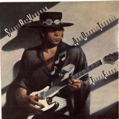 48. VAUGHAN, STEVE RAY AND DOUBLE TROUBLE -TEXAS FLOOD-1983-ПЕРВЫЙ ПРЕСС UK-EPIC-NMINT/NMINT