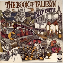 84. DEEP PURPLE-BOOK OF TALIESYN-1968-ОРИГИНАЛЬНЫЙ ПРЕСС 1969 UK-HARVEST-NMINT/NMINT