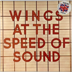 41. WINGS-AT THE SPEED OF SOUND-1976-ПЕРВЫЙ ПРЕСС UK-MPL-NMINT/NMINT