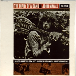 38. MAYALL, JOHN-DIARY OF A BAND( VOLUME TWO)-1968-ПЕРВЫЙ ПРЕСС UK-DECCA-NMINT/NMINT