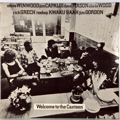 46. TRAFFIC-WELCOME TO THE CANTEEN-1971-ПЕРВЫЙ ПРЕСС UK-ISLAND-NMINT/NMINT
